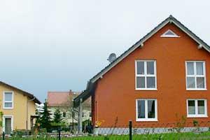 Dach mit Vordachschleppe