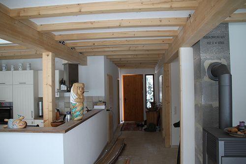 Eingangsbereich - Holzrahmenbau - Zimmerei Walther Dresden / Pirna