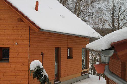 Holzrahmenbau mit Holzfassade - Zimmerei Walther Dresden / Pirna