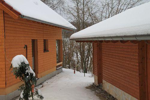 Holzrahmenbau, eine gute und preisg�nstige Bauweise - Zimmerei Walther Dresden / Pirna