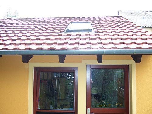 Holzrahmenbau mit verputzter Fassade - Zimmerei Walther Dresden / Pirna