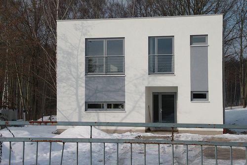 moderner preisg�nstiger Holzrahmenbau - Zimmerei Walther Dresden / Pirna